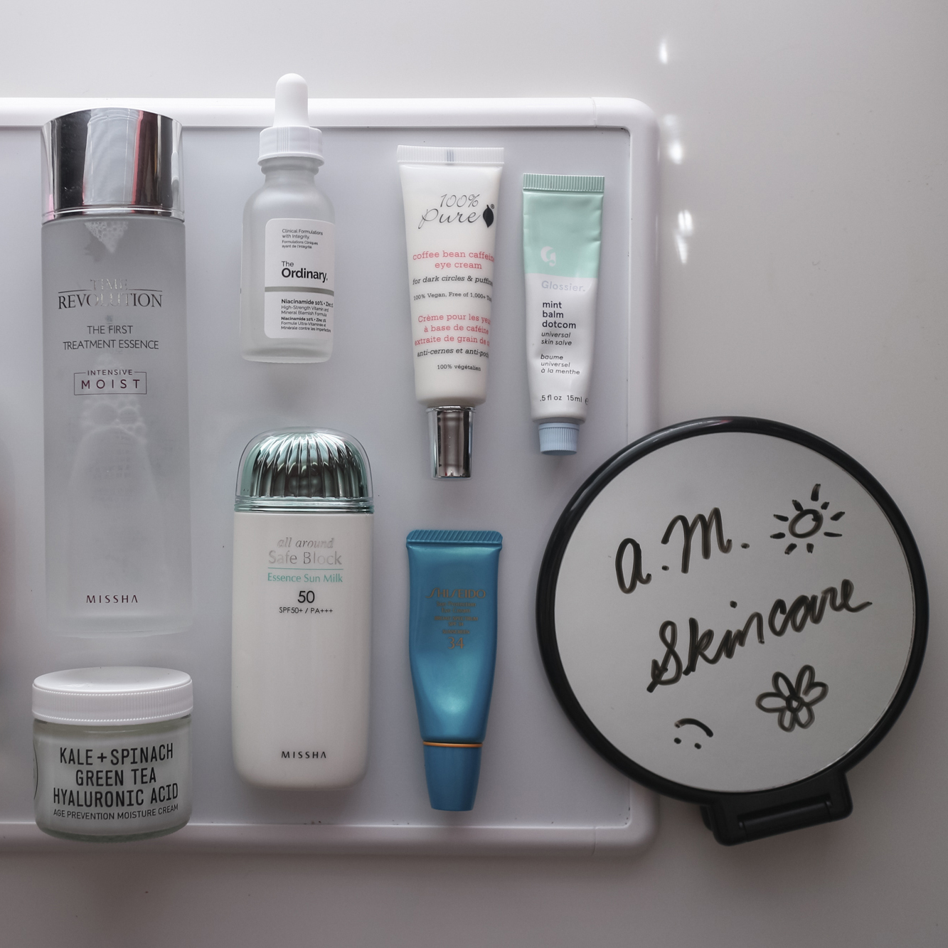 Morning: A.M. Skin Care Routine